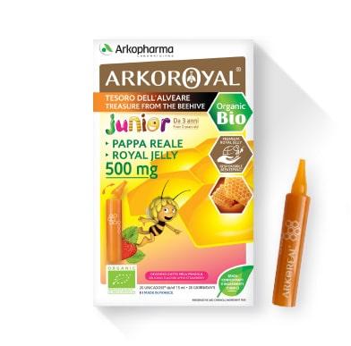 arkoroyal junior bio ampule matične mliječi 500 ml