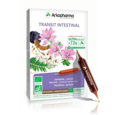 Arkofluides® Transit Intestinal BIO Tekući dodatak prehrani s tamarindom, crnim sljezom, šljivom i akacijom