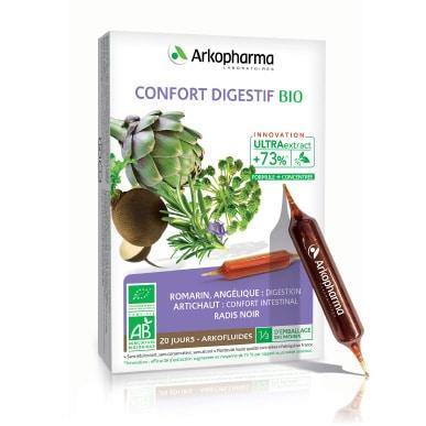 Arkofluides® Digestion BIO Tekući dodatak prehrani s ružmarinom, anđelikom, artičokom i crnom rotkvom